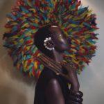 maquillage artistique peau noire